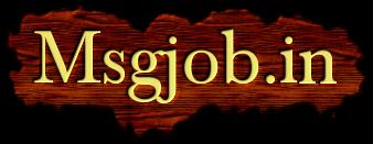 www.msgjob.in